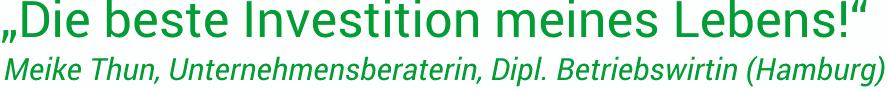 NLP Ausbildung München: Teilnehmerstimmen (NLP München)