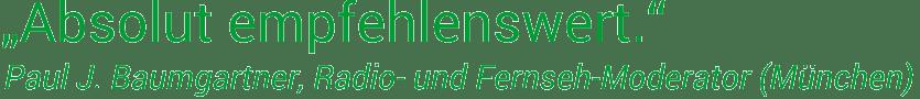 NLP Ausbildung München: Feedback