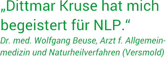 NLP-Seminare München: Feedback